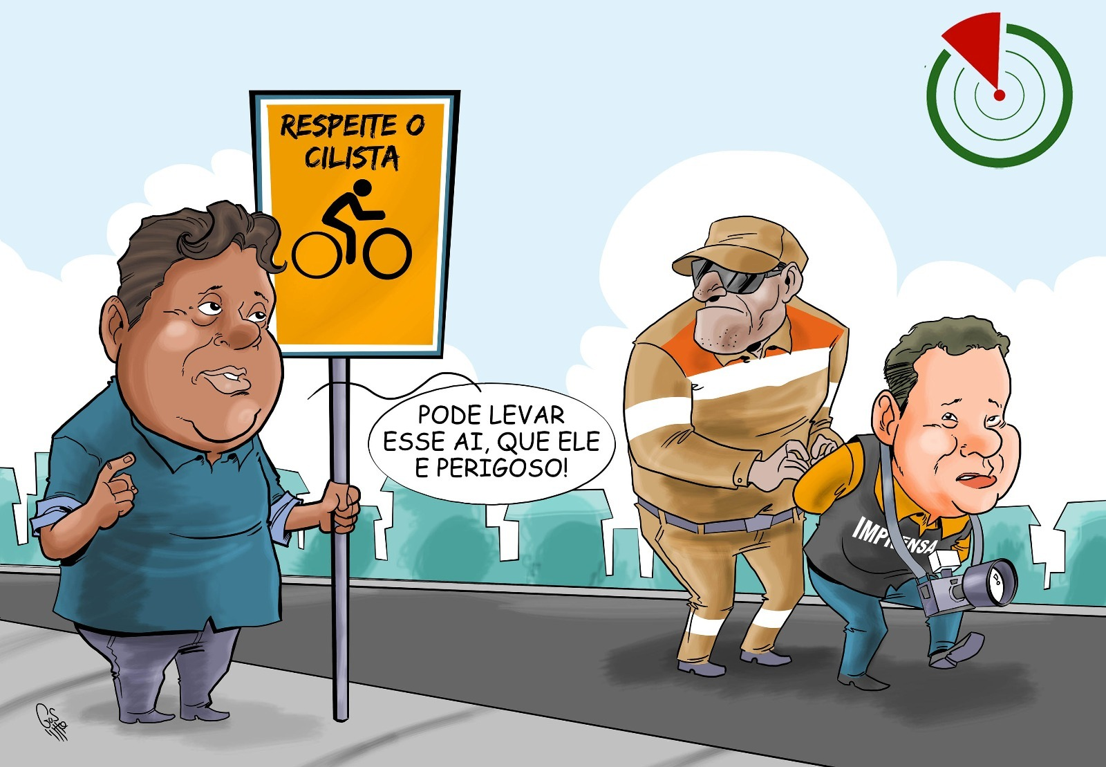 Charge Leonel Feitosa Na Mira do Radar